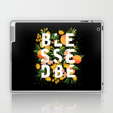 BLESSED BE BLACK Laptop & iPad Skin
