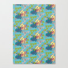 Geo Summer Canvas Print