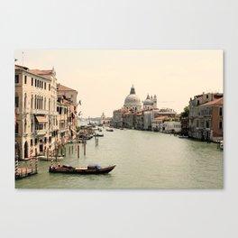 Bridge Views of Venezia  Canvas Print