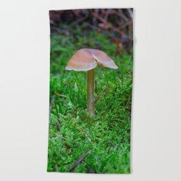 Tiny Fungi. Beach Towel