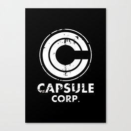 Capsule Corp Vintage white Canvas Print