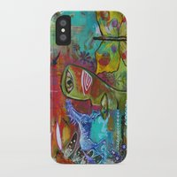 medicine iPhone & iPod Cases featuring Medicine Warrior by Pixie Campbell