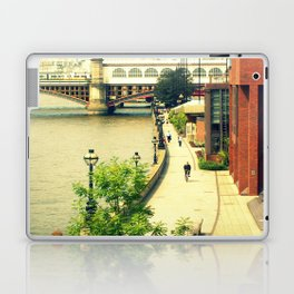 Along the River Thames. Laptop & iPad Skin