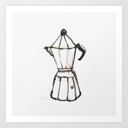 coffee percolator Art Print
