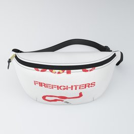 Cops Because Firefighters Need Heroes Funny Police Fanny Pack