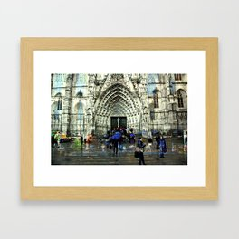 Memories of Spain 8 - Barcelona Cathedral (La Seu) Framed Art Print