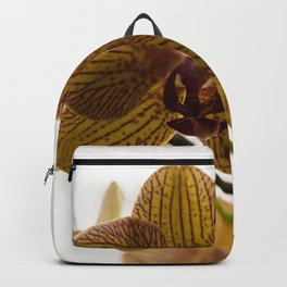 Red Veined Orchid Backpack