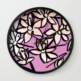 FLORA Wall Clock