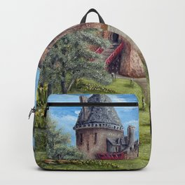 Castell Coch (Red Castle) - Spring Backpack