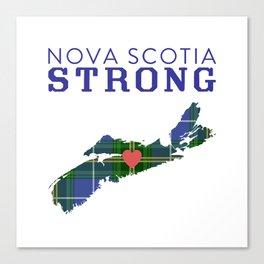 Nova Scotia Strong Canvas Print