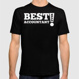 Best Accountant Ever T-shirt