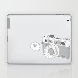 Yashica Camera - blue bird Laptop & iPad Skin
