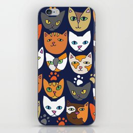 Kitty Cats Everyday Caturday iPhone Skin