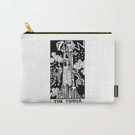 The Tower - A Floral Tower Print Carry-All Pouch