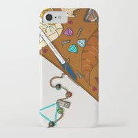 heroes of olympus iPhone & iPod Cases featuring Desk of Heroes by alkart