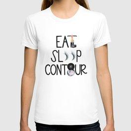EAT SLEEP CONTOUR T-shirt
