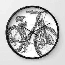 Anatomical Bicycle Wall Clock