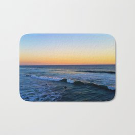 Huntington Beach Sunset 8 Bath Mat