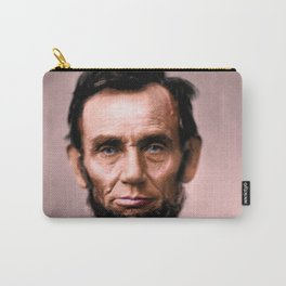 Abraham Lincoln Colorized Carry-All Pouch