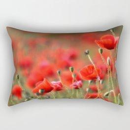Mohnblumenwiese Rectangular Pillow