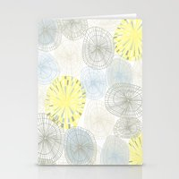 shells Stationery Cards featuring Shells by Claire Brown Surface Pattern