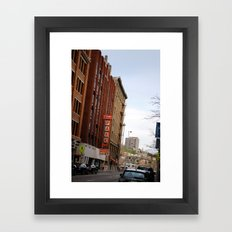 Thanksgiving in Cincinnati  Framed Art Print