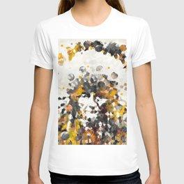 Modern Yellow Native American Indian Chief T-shirt