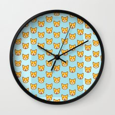 CORGI CORGI CORGI EVERYWHERE Wall Clock