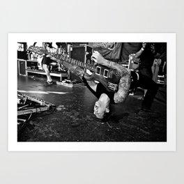 Dillinger Escape Plan Art Print