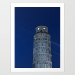 Leaning Tower of Pisa Art Print