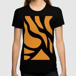Tiger Texture Background #society6 #decor #buyart #artprint T-shirt