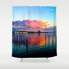 Long Wharf Shower Curtain