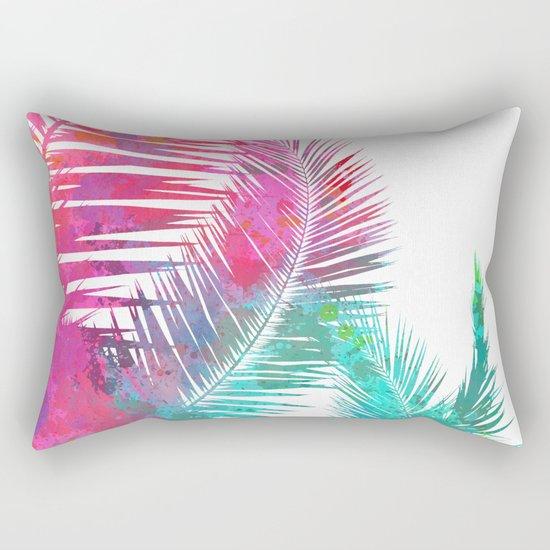 Palms Explosion Rectangular Pillow