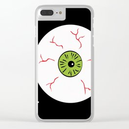 Just the Way Eye Roll Clear iPhone Case