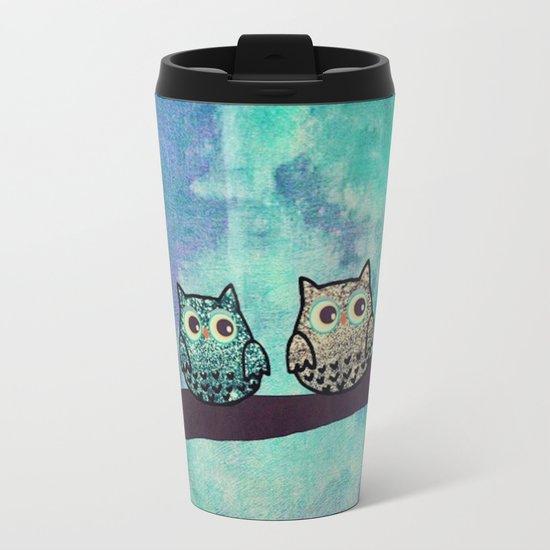 owl-46 Metal Travel Mug