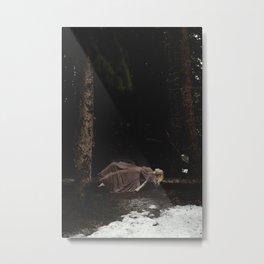 Mariah in the Forrest Metal Print