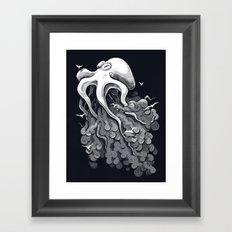 Deep Cloud Framed Art Print