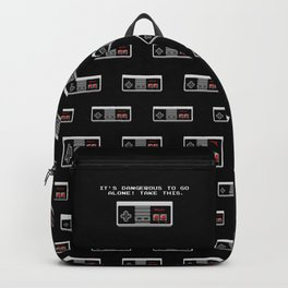 Its dangerous to go alone take this video game Backpack