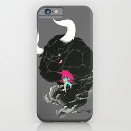 Bullfighting iPhone Case