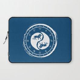 Leo Yin Yang Fifth Zodiac Sign Laptop Sleeve