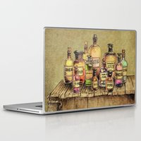 oil Laptop & iPad Skins featuring Snake Oil by Eric Fan