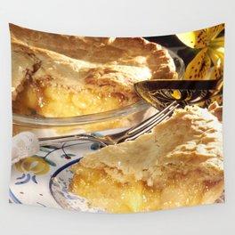 Apple Pie Dessert Wall Tapestry