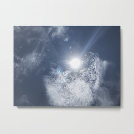 OBX Sun Metal Print