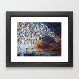 Seeing Shepherds Framed Art Print