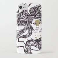 clover iPhone & iPod Cases featuring Clover by Cassie Wolfe
