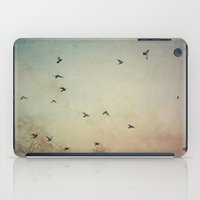 wings iPad Cases featuring Wings by Stella Ortiz