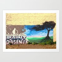 Paint Saginaw Art Print