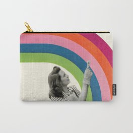 Paint a Rainbow Carry-All Pouch