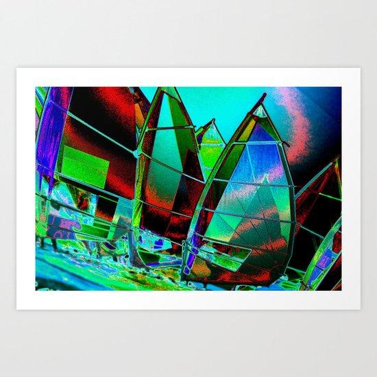 Solar Sail Art Print