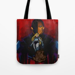 Evil Terra-forming With Deathstroke Tote Bag